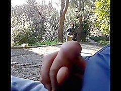 amateur flashing italian voyeur