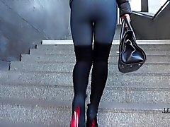 bdsm bukkake gangbang nylon spanking