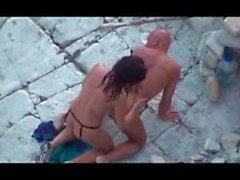 beach strapon voyeur beach sex beach voyeur