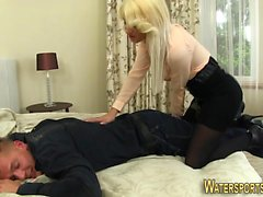 blonde fetish hd