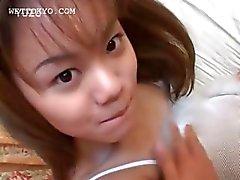 amador asiático morena