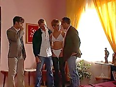 anal double penetration french gangbang
