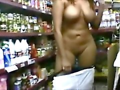 big tits exhibitionists nude public