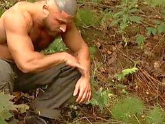uncut muscle bears tag team captive stud