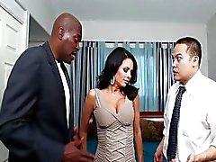 couple big tits interracial milf veronica avluv