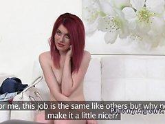 amateur casting european
