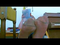 foot fetish pov stockings