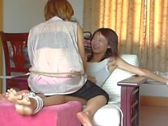 kink tickling tickle-torture laughing chinese