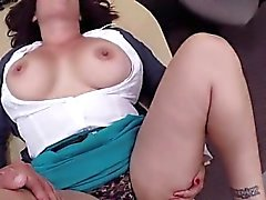 amateur big boobs blowjob brunette