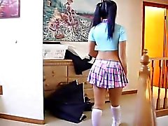 christina aguchi school-girl uniform