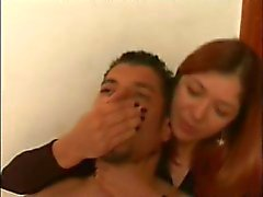 kink hand-over-mouth handsmother breathplay