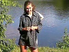 clignotant nudité en public russe