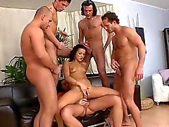 anal blowjobs double penetration group sex