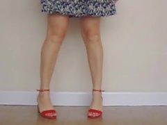 amateur brazilian foot fetish high heels wife
