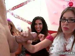amateur bachelorette blowjob cfnm dancing