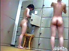 asiatique clignotant nudité en public japonais