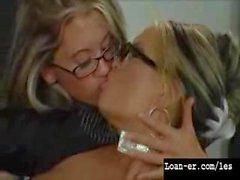 lesbian threesome teacher
