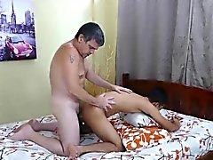 Asian fucker Arjo gets his ass spread by daddies big cock
