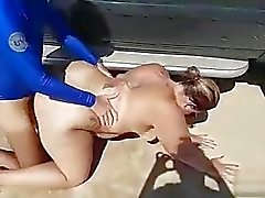 beach bbw big butts outdoor