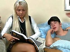 amateur blonde hardcore russian teen