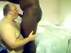 Hung 6 Foot 11 Black Thug Rimmed Sucked by White Bear