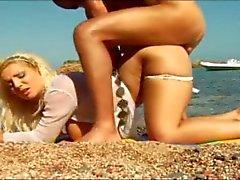 babes strand grote borsten