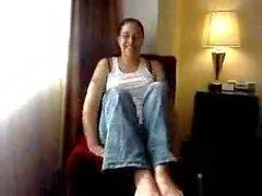 foot-model ebony-feet pov