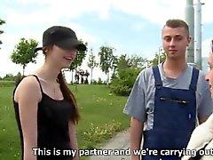 amateur pipe brunette tchèque
