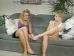 sclip classic porn brunette