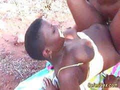 african safari sex orgy in nature segment