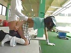 classroom girl golf