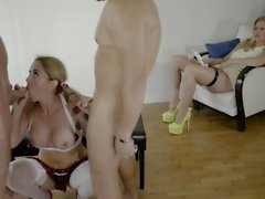 rough group extreme deepthroat extreme gagging schoolgirl fucking school