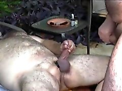 Outdoor polarbear cocksucked until cumming