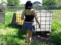 public outside orgasm squirting piss