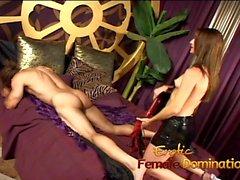 femdom mistress slave spanking upskirts