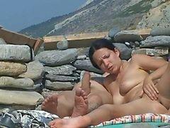 praia hardcore nudez em público