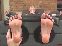 old tickling-feet mature