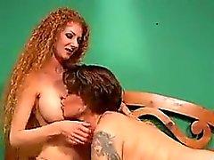 big boobs brunette hardcore lesbian redhead