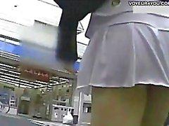 japonés upskirts voyeur