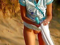 strand clitoris buiten