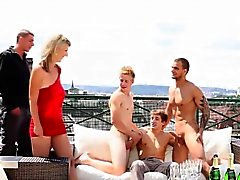 bisexual blowjob gangbang group sex