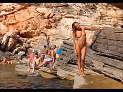 beach flashing nudist outdoor