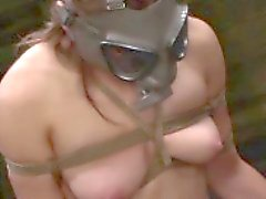 bdsm blowjob brunette