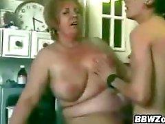 bbw pompino nonna maturo