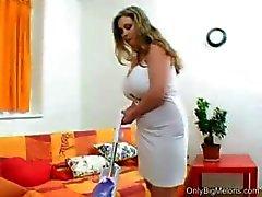 big tits boobs busty cougar
