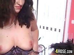 brunette hardcore mature milf
