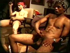 gay gay couple masturbation ebony wanking