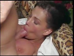 big tits blowjob couple cumshot facial