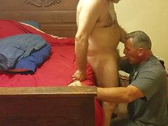 gay bear big cock blowjob
