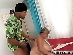 bbw nonna hardcore interracial
